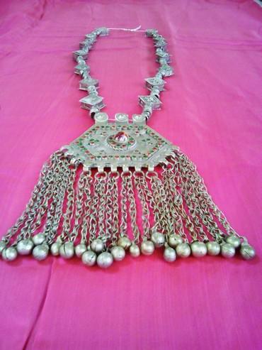 Национальное таджикское колье. 19 век. Материал подвески- медь