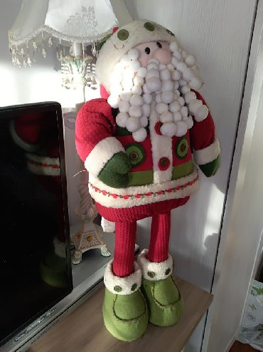 Hkosulja-cm - Srbija: SNIZENJE Prelepi Deda Mraz visine 64 cm
