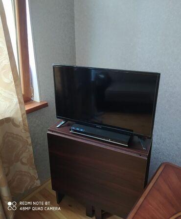 Televizorlar Ucarda: Tecili satılır Televizor satılır.Neos smartd. Ekran 80sm. Qiymet 200