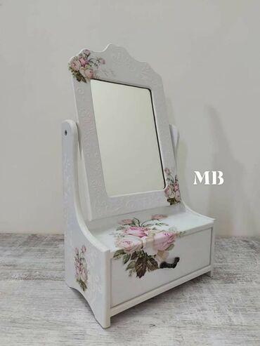 Setovi namještaja | Arandjelovac: Ogledalo sa fiokom Dimenzije  38cm x 12cm x 20.5cm Cena 2.300