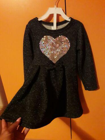 Decije haljine - Pirot: Haljinica za devojcice vel 2. Jednom obucena