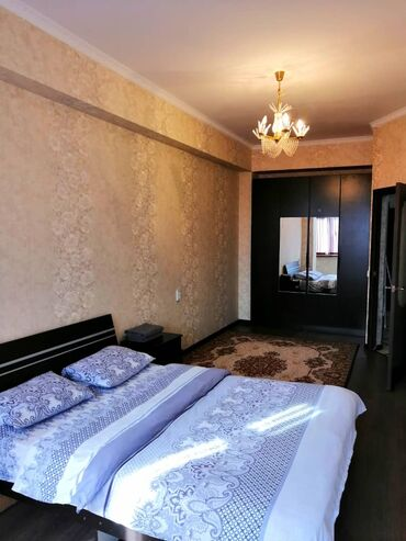 dzhinsy 2 в Кыргызстан: Посуточная, почасовая вип квартира!!!большая удобная кровать(ортопед м