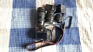 Электроника - Лебединовка: Продаю фотоаппарат зеркалка Canon 550D с хорошим набором объективов