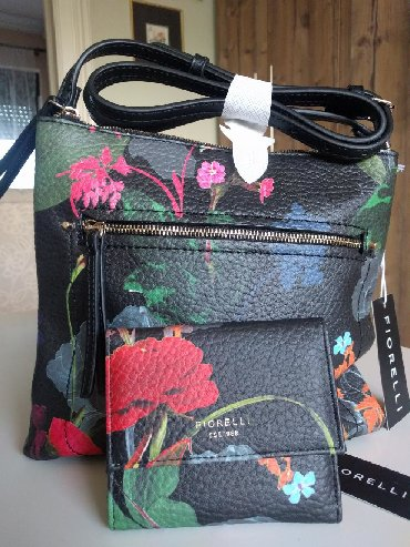 Nova šarena Fiorelli torba sa novčanikom