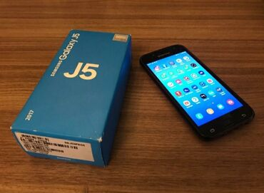 Samsung - Bakı: Samsung Galaxy J5 | 16 GB | Qara | Zəmanət, Sensor, Barmaq izi