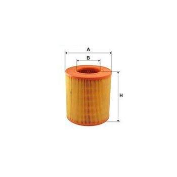 audi a6 4 2 fsi - Azərbaycan: Hava filteri  AUDI: A6 04-, A6 Avant 05-  Hava Filteri Wunder WH137 LX
