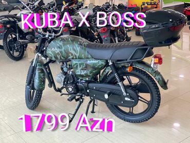 Suzuki - Azərbaycan: Kuba x boss 50 cc Prava teleb etmir Kredit var 1 kart kecerlidi