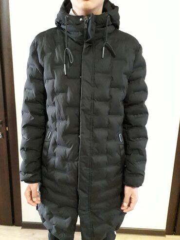 Продаю зимнюю мужскую куртку чёрного цвета хорошего фасона в отличном