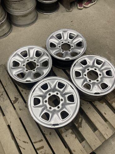 Срочно железные диски Тойота размер 16 ширина 6 вылет цо 106.1  Разбол