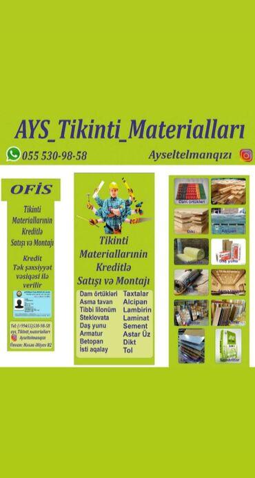 - Azərbaycan: Tikinti materiallarinin topdan ve perakende satiwi . Tek wexsiyyet