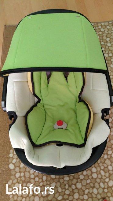 Bellelli autosediste- nosiljka za bebe, ocuvana, za beograd moze licno - Beograd