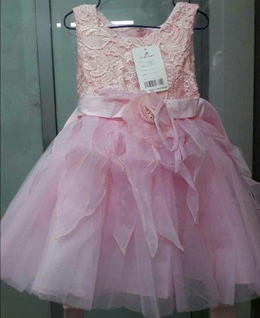 Прокат новое детское платье снежинка в Бишкек