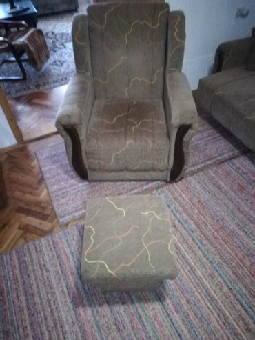 Fotelje | Srbija: Fotelja i Tabure sve od istog materijala standardnih dimenzija. U