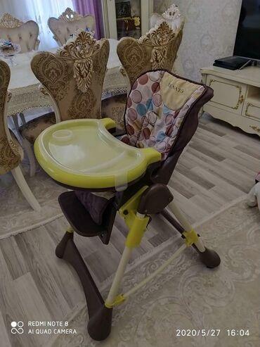 usaq-yemek-stolu - Azərbaycan: Usaq ucun yemek stolu az istifade olunub remenleri yoxdu itib 70 azn