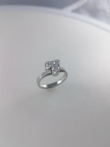 Чёрные кольца из вольфрама - Кыргызстан: Кольцо из платины 950проба вставка: бриллиант 13кр57-1.28 4/2 размер