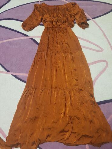 Женская одежда - Кок-Джар: Продаю срочно платье Турецкого производства .отличного качества и