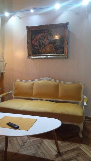 Stilski namestaj , trosed i dve fotelje, restauriran za salon - Belgrade