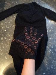 Nova cipkana haljina s/m velicine - Palic