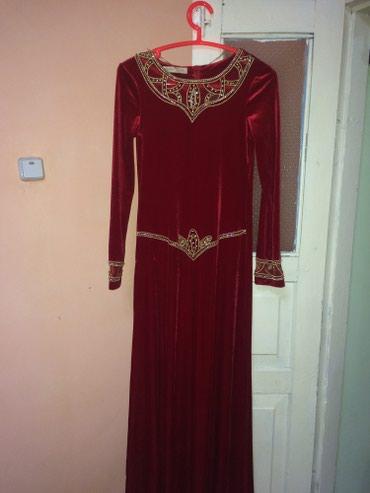 Новое платье,королевский велюр. Производство Турция.размер 46-48 в Сокулук