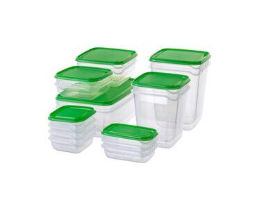 Набор контейнеров, PRUTA ПРУТА 17 шт. в набореВ набор входит: 4