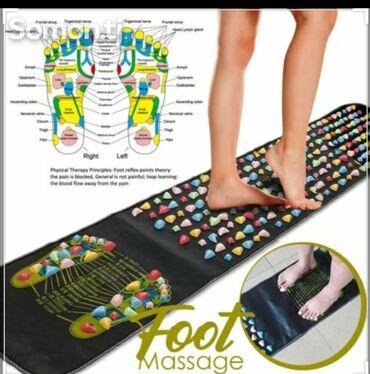 Ортопедический массажный коврик широко используется в медицине для