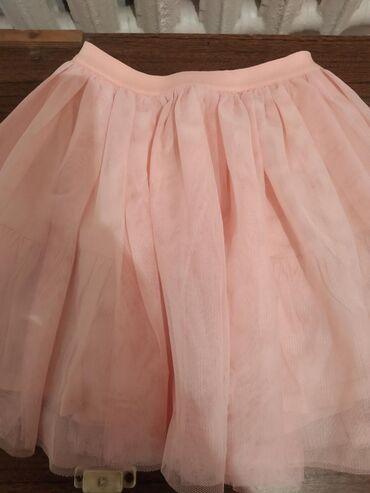Юбка для принцессы бледно-розового цвета