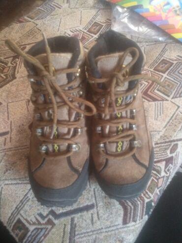 37 размер обувь в Ак-Джол: Продам ботинки трекинговые Aquatwo. Подошва Flex Zone, фиксаторы шнурк