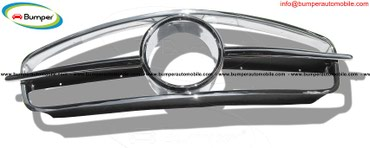 Mercedes W190 SL grille years (1955-1963) stainless steel in Amargadhi  - photo 2