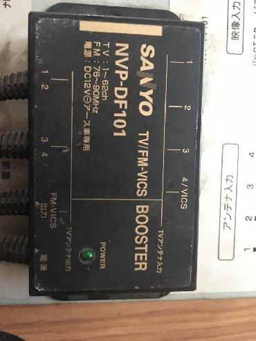 гитарные усилители в Кыргызстан: Санио НВП-DF101 ТВ/FM-ВМКС усилитель стойки регистрации в ускоренном