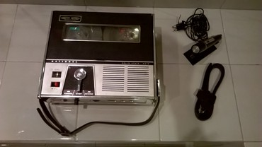 National Solid State 401S portable tape recorder Έχει ελεγχτεί και