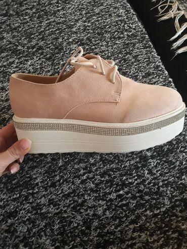 Cipele od velura,udobne,lagane,nove nenosene,promasen broj
