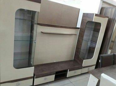 Bakı şəhərində Fabrik istehsali, iki eded vitrin ve tv alti