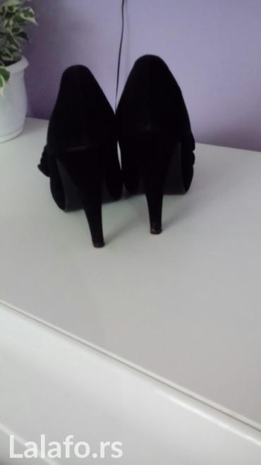 Crne antilop cipele br.38 jednom nosen - Nis