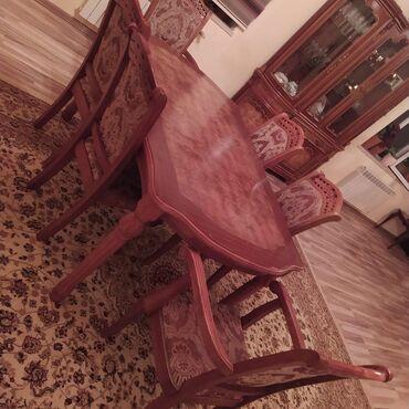 Дом и сад - Ашагы-Гюздек: Satlir malaziya istehsalı olan stol stul desti ela vəziyyətdə heç bir