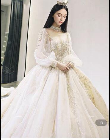свадебные платья хиджаб в Кыргызстан: Продам совершенно новые платья из Гуанчжоу для девушек с ростом 155см
