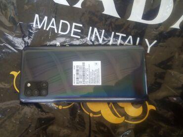 Электроника - Баткен: Samsung Galaxy A31   64 ГБ   Черный   Сенсорный, Отпечаток пальца, Две SIM карты