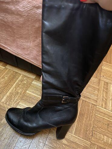 Cizme kozne broj - Srbija: Kozne cizme  39 broj.Crne