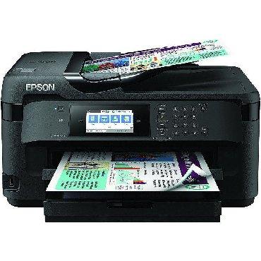 printer tx650 в Кыргызстан: Мфу А3 формат 4 цвета. EPSON WF7710 ПРИНТЕР-СКАНЕР-КОПИР-ФАКС
