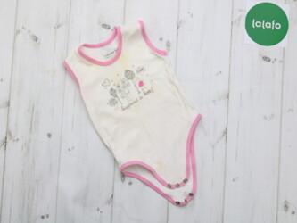 Боди для малыша Renatal,9-12 месяцев (71-77см)    Длина: 39 см Пог: 20
