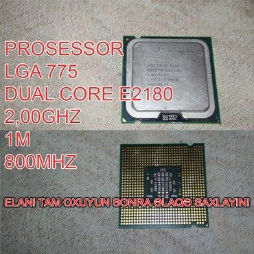 Bakı şəhərində Prosessor (CPU) E2180 Dual Core