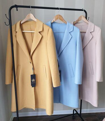 Натуральный кашемир пальто  Яркий эксклюзивный модель, очень стильно