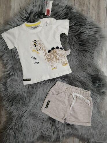 Ostala dečija odeća | Sabac: Kompletic za bebe dostupne velicine 6-9, 9-12, 12-18, 18-24 meseca