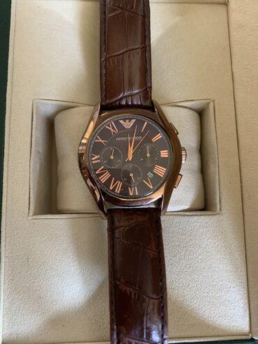 Личные вещи - Шопоков: Продаю наручные часы EMPORIO ARMANI механические  Часы б/у в хорошем с