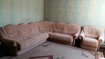 Продаю угловой диван с креслом !!! В отличном состоянии  Размер: 2.60*