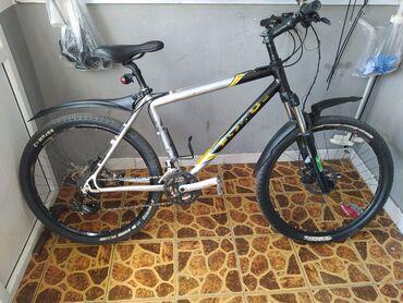 Велосипед немецкий Focus бу Рама алюминий 19 размер Колеса 26Состояние