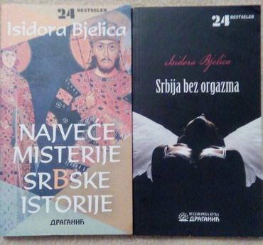 Knjige Isidore Bjelice, nove. Pojedinačna cena 200 din./ komplet 300 - Belgrade