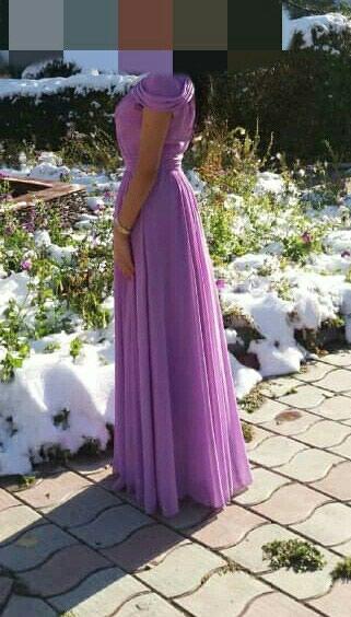 Шикарное, нежное, шифоновое платье, в Бишкек