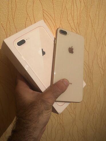 phone - Azərbaycan: İşlənmiş iPhone 8 Plus 64 GB Qızılı