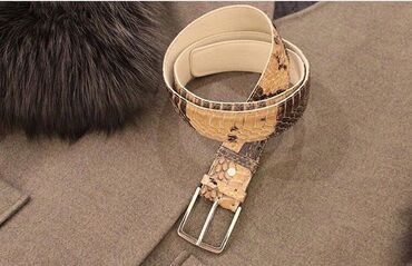 Для любителей экзотики и роскоши продаю Ремни из натуральной кожи