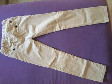 Radne pantalone - Srbija: Minoti pantalone za decaka velicina 122-128,lastis u pojasu prelep